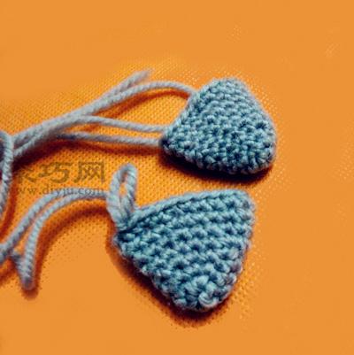 教你怎么用毛线编织小猫