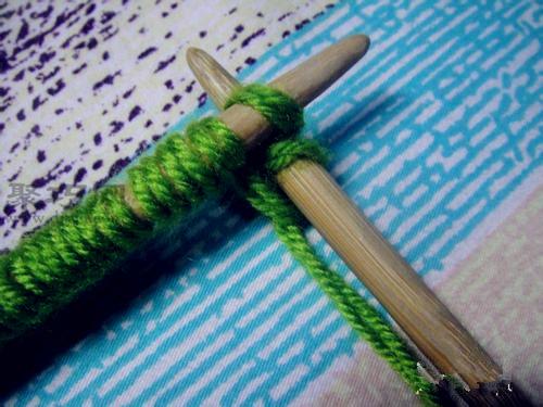 又简单又好看的棒针编织围巾教程