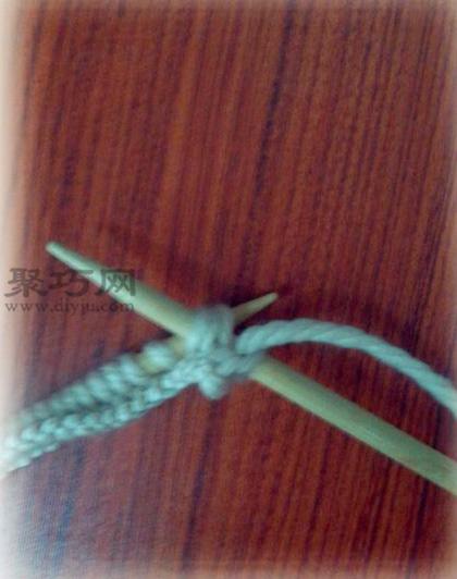 棒针手工编织菠萝花围巾