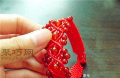 宽手链的编织方法图解 教你怎么编宽手链
