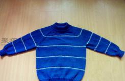 男孩毛衣编织图解教程 教你如何手工编织男孩毛衣