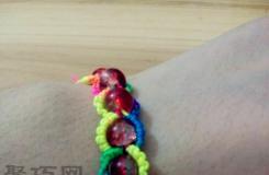 非常简单的珠子手链编法 教你如何织手链