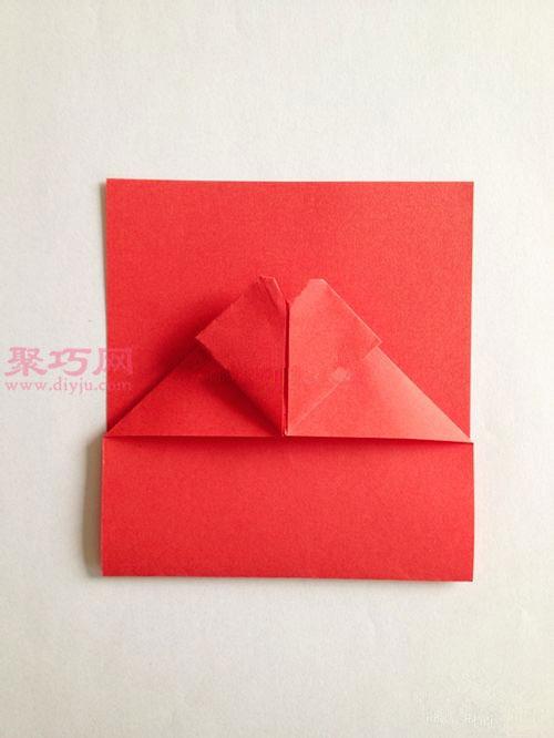 心形红包的折法图解 教你如何手工折纸红包