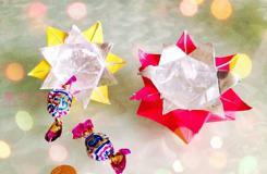 六边形纸盒的折法图解 如何折六边形盒子