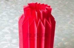 纸灯笼的折法图解 教你如何手工折纸灯笼