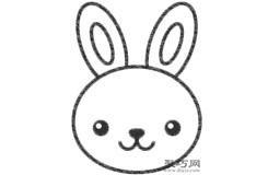 兔子的画法步骤 教你怎么画兔子简笔画