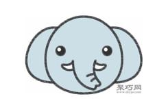 大象的画法步骤 教你怎么画大象简笔画