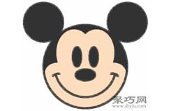 米老鼠的画法步骤 教你怎么画米老鼠简笔画