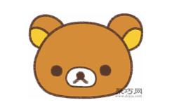 懒懒熊的画法步骤 教你怎么画懒懒熊简笔画