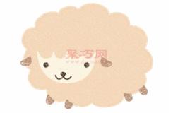 小绵羊的画法步骤 教你怎么画小绵羊简笔画