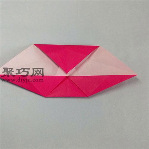 带翅膀的心的折法图解