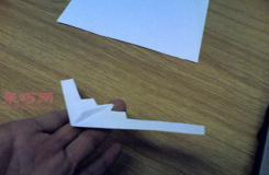 b-2幽灵轰炸机的折法 最强纸飞机b2轰炸机怎么折