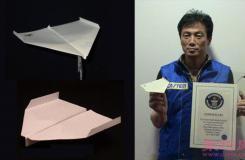 sky king空中之王纸飞机折法图解 世界上飞的最久的纸飞机折法