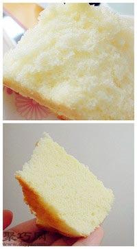 普通电饭煲做全蛋海绵蛋糕7