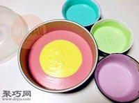 八寸彩虹慕斯蛋糕的做法20