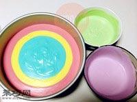 八寸彩虹慕斯蛋糕的做法21