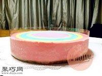 八寸彩虹慕斯蛋糕的做法24