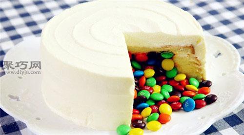 怎么做不开裂戚风生日蛋糕 6英寸8英寸戚风蛋糕最佳原料配方