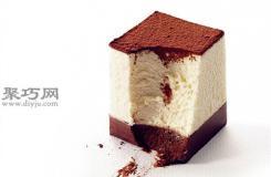 经典黑白双层巧克力慕斯做法 21cake的做法步骤