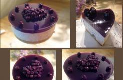 蓝莓慕斯蛋糕制作方法 不用烤箱生日蛋糕的做法