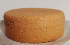 不塌陷不回缩戚风蛋糕做法 不开裂戚风蛋糕原料配方比例