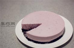 图解最简单蓝莓冻芝士蛋糕做法 零失败蓝莓冻芝士蛋糕制作