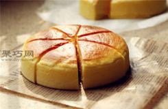 六寸烫面轻乳酪蛋糕的做法 轻乳酪蛋糕6寸8寸配方
