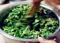 鲜嫩韭菜虾肉猪肉饺子馅拌法 饺子包法木鱼饺8