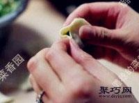 鲜嫩韭菜虾肉猪肉饺子馅拌法 饺子包法木鱼饺14