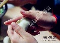 鲜嫩韭菜虾肉猪肉饺子馅拌法 饺子包法木鱼饺15