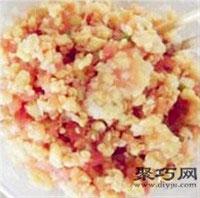 酸甜西红柿鸡蛋饺子的做法 儿童易消化水饺做法11