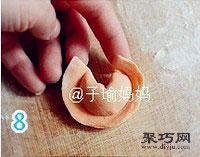 胡萝卜元宝饺怎么包 饺子的包法元宝饺14