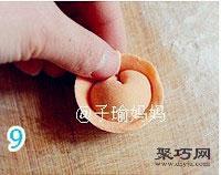 胡萝卜元宝饺怎么包 饺子的包法元宝饺15