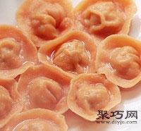 胡萝卜元宝饺怎么包 饺子的包法元宝饺17