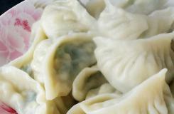 图解韭菜虾皮饺子的做法 月牙饺子怎么包