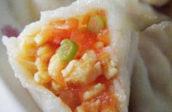酸甜西红柿鸡蛋饺子的做法 儿童易消化水饺做法