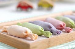 彩色糖果水饺的包法 教你如何做吉祥如意糖果饺子
