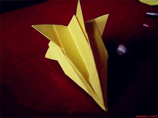 喇叭花的折法教程