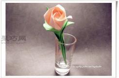 纸玫瑰的简单折法手把手教你如何折完整纸玫瑰花