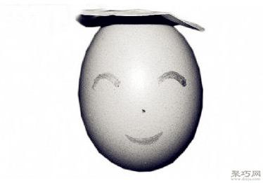 蛋壳不倒翁手工制作方法