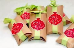 用卷纸筒DIY精美礼物包装盒 手工制作礼品盒方法