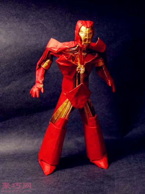 3D立体折纸钢铁侠
