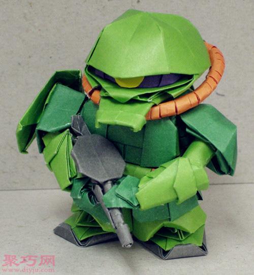 3D立体折纸星球大战绝地武士
