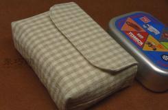 翻盖餐盒包手工制作教程 教你如何制作翻盖餐盒包