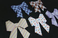 最简单的蝴蝶结怎么折 来看蝴蝶结折纸步骤图解