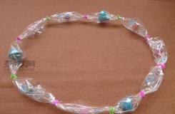 一个简单的糖果手链DIY教程 一起学做好玩的水晶手链