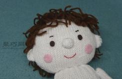 手工布偶制作图解 毛线卡通布偶手工小制作