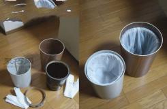 垃圾桶塑料袋固定小妙招 让你家垃圾桶不再脏乱