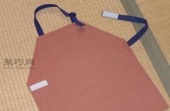 儿童围裙制作教程 吃饭不脏衣服宝宝吃饭神器