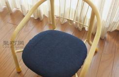 创意布艺制作儿童小座椅套手工教程